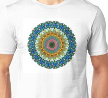Miracle Mandala Art by Sharon Cummings Unisex T-Shirt