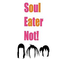 Soul Eater Not! Hair Silhouettes by scoutingbugs