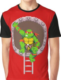 TURTLES IN TIME - RAPHAEL Graphic T-Shirt
