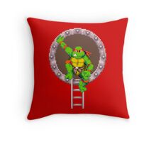 TURTLES IN TIME - RAPHAEL Throw Pillow
