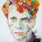 DYLAN THOMAS - watercolor portrait.4 by lautir