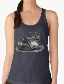 M113 and UH1 Women's Tank Top