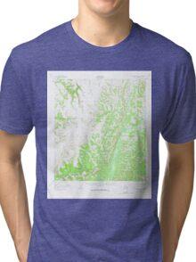 USGS TOPO Map Alaska AK Unalakleet B-4 360181 1952 63360 Tri-blend T-Shirt