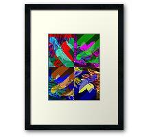 Psychedelic Panels  Framed Print