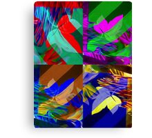 Psychedelic Panels  Canvas Print