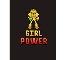 8 Bit Girl Power Photographic Print