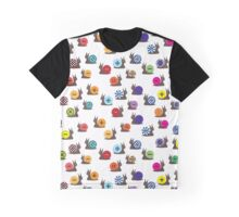 Snails and Buttons Graphic T-Shirt