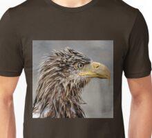 Wet Head Juvenile Bald Eagle Unisex T-Shirt