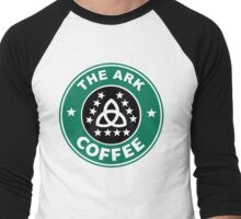 The Ark Coffee Men's Baseball ¾ T-Shirt
