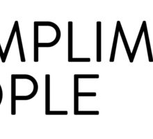 Compliment People [rectangle] Sticker