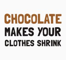 Chocolate Shrink Kids Clothes