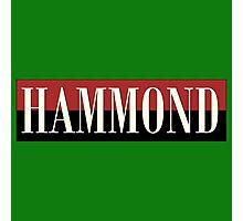 Vintage Hammond Photographic Print
