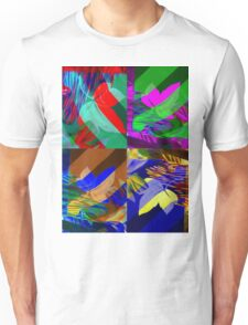 Psychedelic Panels  Unisex T-Shirt