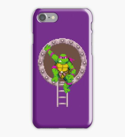 TURTLES IN TIME - DONATELLO iPhone Case/Skin