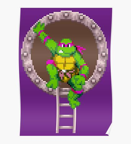 TURTLES IN TIME - DONATELLO Poster