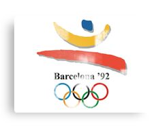 Barcelona Summer Games Canvas Print