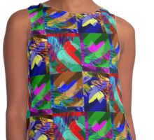 Psychedelic Panels  Contrast Tank