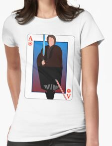 Star Wars Playing Card Womens Fitted T-Shirt