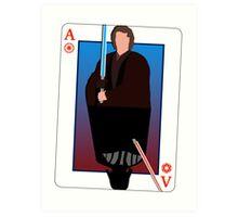 Star Wars Playing Card Art Print