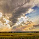 Colorado Big Sky Beams of Sunshine by Bo Insogna