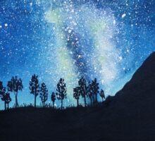 Milky Way Reflections Sticker