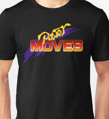 Power Moves - SNES Title Screen Unisex T-Shirt