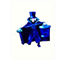 The Hatbox Ghost Art Print