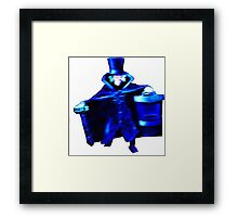 The Hatbox Ghost Framed Print