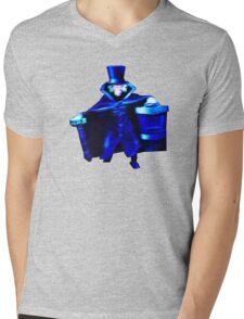 The Hatbox Ghost Mens V-Neck T-Shirt
