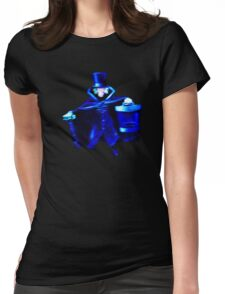 The Hatbox Ghost Womens Fitted T-Shirt