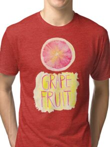 Grapefruit by VIXTOPHER Tri-blend T-Shirt