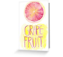 Grapefruit by VIXTOPHER Greeting Card