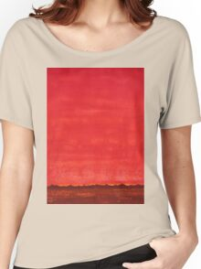 Sky High original painting Women's Relaxed Fit T-Shirt