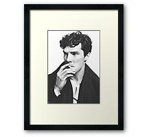 Cumberbatch Framed Print