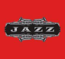 Jazz sax gray One Piece - Long Sleeve