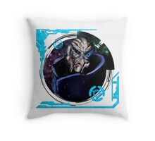 The Archangel Throw Pillow