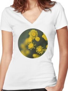 In The Garden Women's Fitted V-Neck T-Shirt