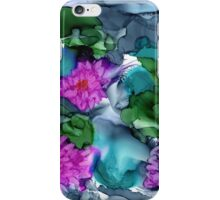 Abstract Water Lilies iPhone Case/Skin