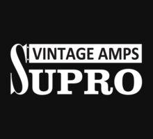 Supro vintage amps Kids Tee