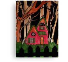 The Witch's House Canvas Print