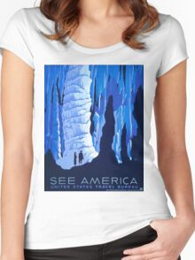 See America Women's Fitted Scoop T-Shirt