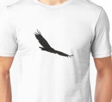 Hawk Flying To The Clouds Unisex T-Shirt