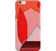 Abstract lendscape by Moma iPhone Case/Skin
