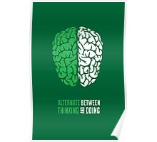 Thinking And Doing Poster