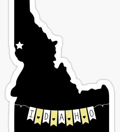 Idaho Banner Sticker