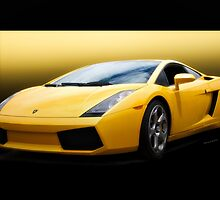 Exotic Italian Sports Car by DaveKoontz
