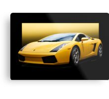 Exotic Italian Sports Car Metal Print