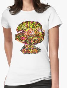 THE DOOR LOGO Womens Fitted T-Shirt