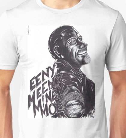 "Negan : ""EenyMeenyMineyMoe"" Unisex T-Shirt"
