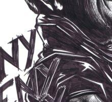 """Negan : """"EenyMeenyMineyMoe"""" Sticker"""